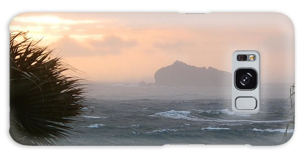 Rainy Xmas Sunrise Galaxy Case by Margaret Brooks