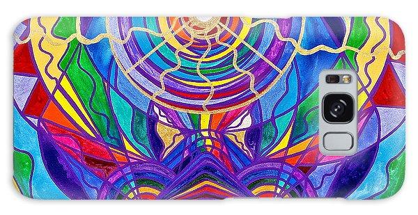 Raise Your Vibration Galaxy Case