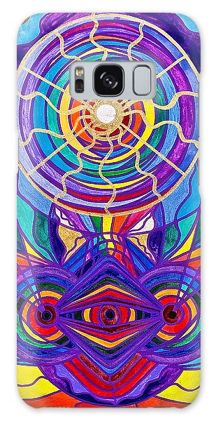 Spirituality Galaxy Case - Raise Your Vibration by Teal Eye Print Store