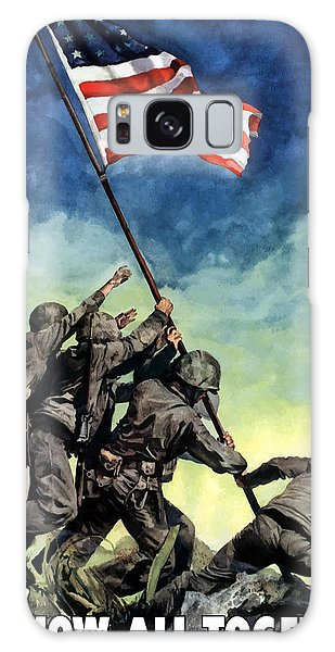 Americana Galaxy Case - Raising The Flag On Iwo Jima by War Is Hell Store