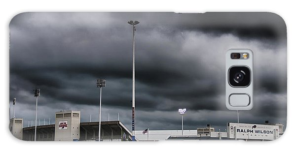 Ralph Wilson Stadium 5803 Galaxy Case by Guy Whiteley