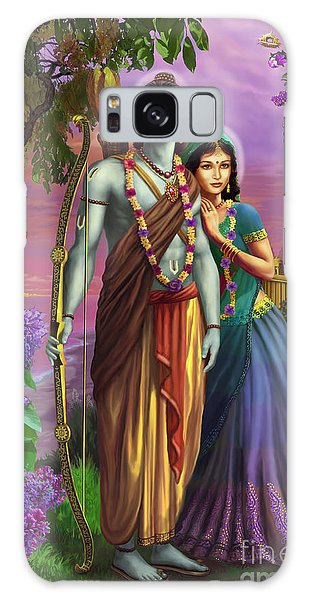 Rama And Sita  Galaxy Case