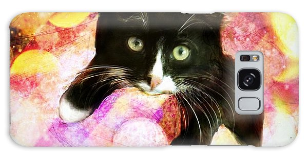 Rama The Miracle Cat Galaxy Case