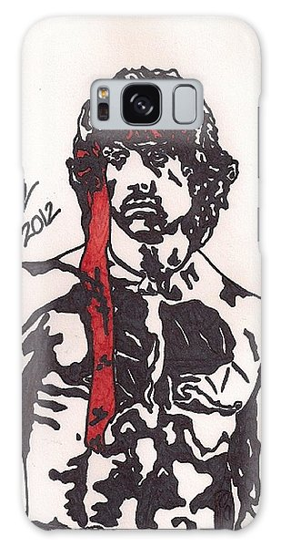Rambo First Blood Part II Galaxy Case by Jeremiah Colley
