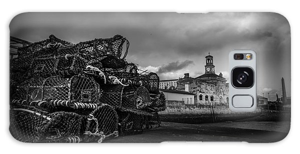 Ramsgate Lobster Pots  Galaxy Case