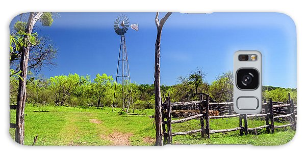 Ranch At Click Gap II Galaxy Case by Greg Reed