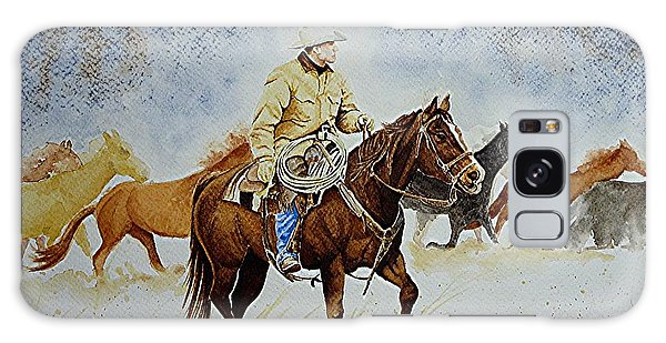 Ranch Rider Galaxy Case by Jimmy Smith