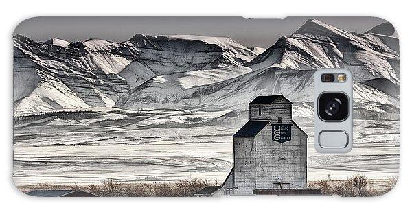 Ranchland Elevator Galaxy Case by Brad Allen Fine Art