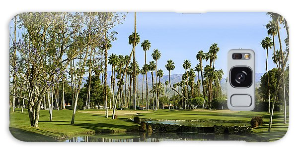 Rancho Mirage Golf Course Galaxy Case