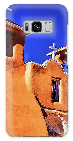 Ranchos De Taos Church Galaxy Case