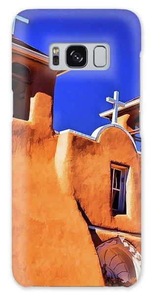 Ranchos De Taos Church Galaxy Case