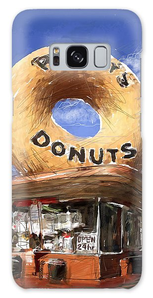 Randy's Donuts Galaxy Case