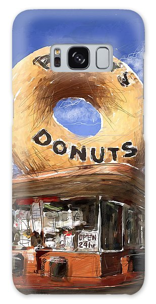 Randy's Donuts Galaxy Case