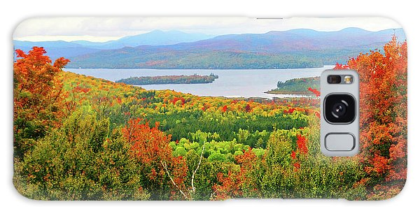 Rangeley Lake And Rangeley Plantation Galaxy Case