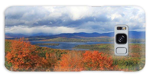 Rangeley Lake Autumn View Galaxy Case
