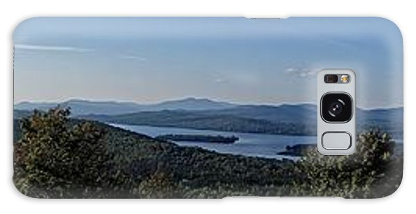 Rangeley Lake Sunset Panoramic Galaxy Case