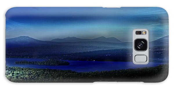 Rangeley Magic Sunset Galaxy Case