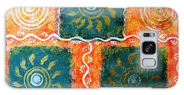 Rangoli Abstract Painting Galaxy Case