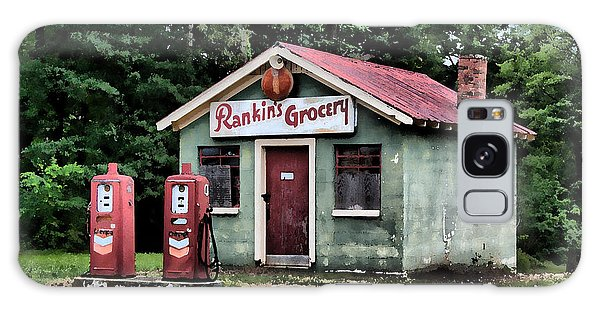 Rankins Grocery In Watercolor Galaxy Case