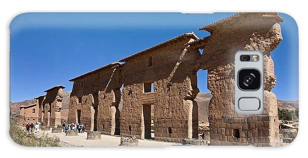 Raqchi Inca Ruins Galaxy Case