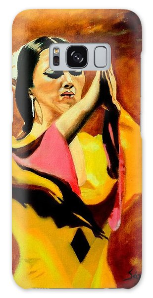 Raquel Heredia - Flamenco Dancer Sold Galaxy Case