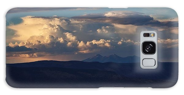 Rare June Storm Glow San Francisco Peaks Galaxy Case
