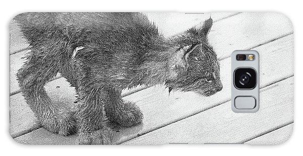 Crouching Kitty Galaxy Case