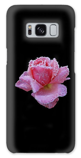 Rare Winter Rose Galaxy Case