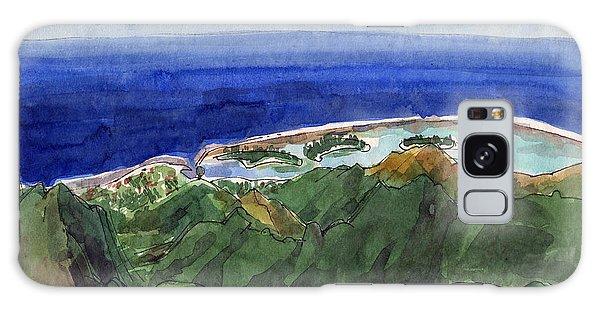 Rarotonga, View From Te Manga Galaxy Case