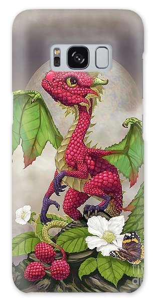 Raspberry Dragon Galaxy Case
