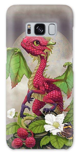 Raspberry Dragon Galaxy Case by Stanley Morrison