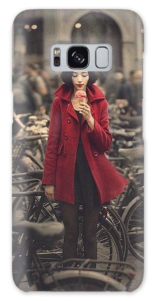 Raspberry Galaxy S8 Case - raspberry sorbet in Amsterdam by Anka Zhuravleva