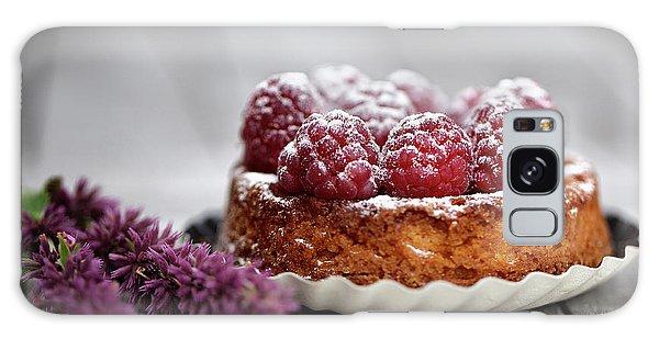 Raspberry Galaxy S8 Case - Raspberry Tarte by Nailia Schwarz
