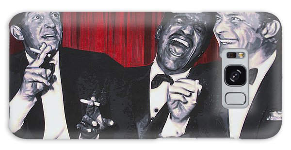 Rat Pack Galaxy Case by Luis Ludzska