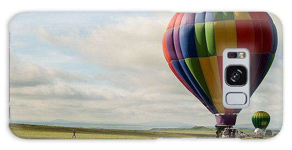 Raton Balloon Festival Galaxy Case