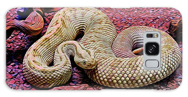 Rattlesnake In Abstract Galaxy Case