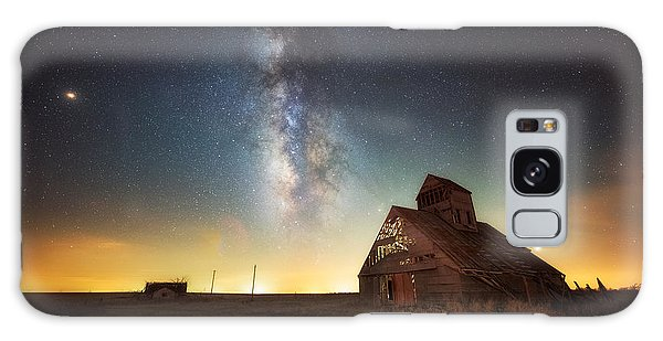 Rattlesnake Silo Barn Galaxy Case