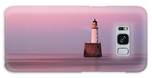 Rattray Head Lighthouse At Sunset - Pink Sunset Galaxy Case