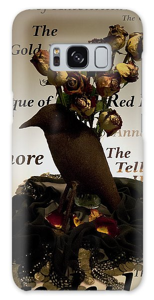 Raven And Roses Galaxy Case