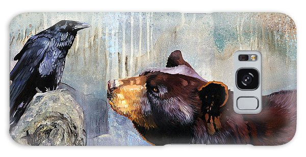 Raven And The Bear Galaxy Case