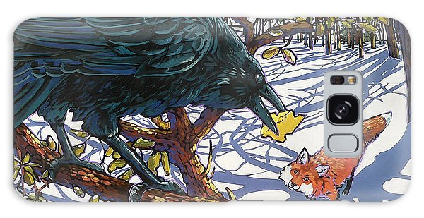 Raven And The Fox Galaxy Case