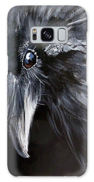 Raven Attentive Galaxy Case