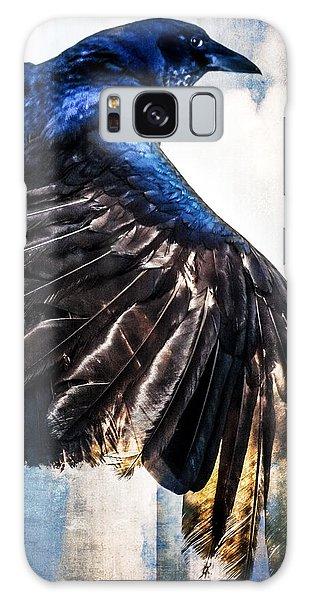 Raven Attitude Galaxy Case by Carolyn Marshall