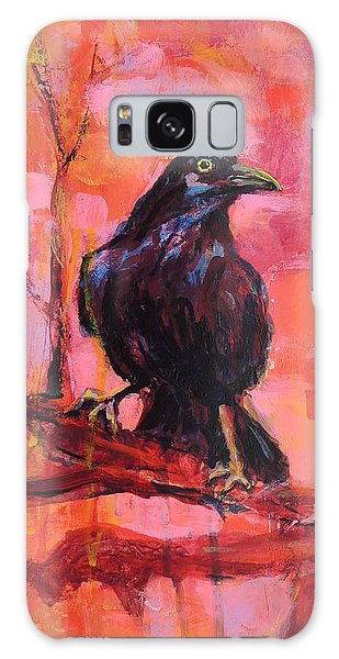 Raven Bright Galaxy Case