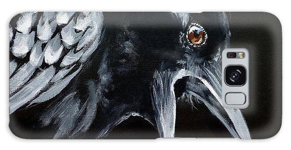 Raven Complaining Galaxy Case