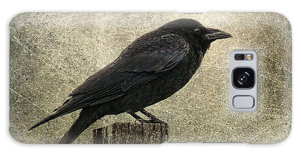 Raven Galaxy Case by Elena Nosyreva
