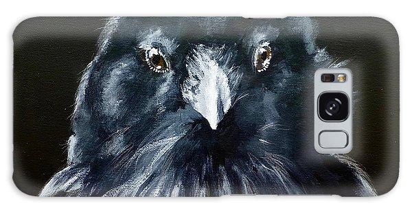 Raven Fluff Galaxy Case