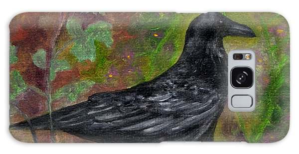 Raven In Columbine Galaxy Case