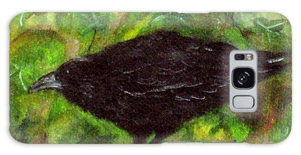 Raven In Ivy Galaxy Case