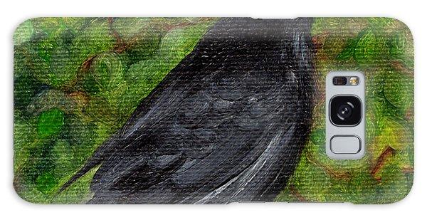 Raven In Wirevine Galaxy Case